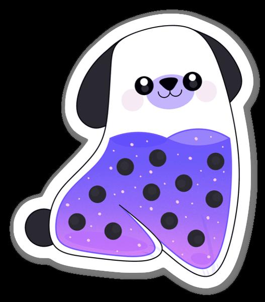 Pupply Lila sticker