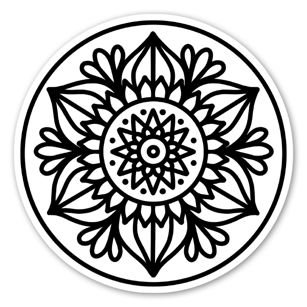 Mandala pegatina