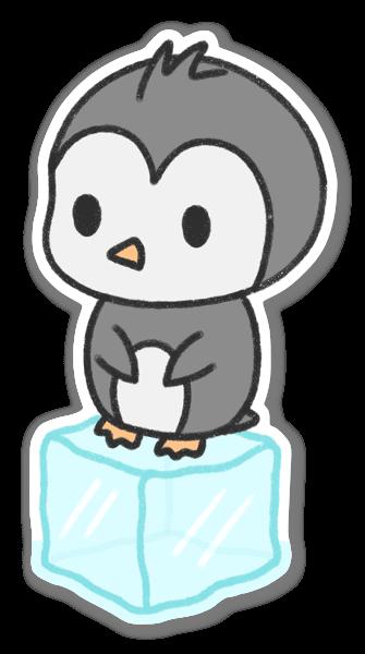 Adesivo pinguino kawaii sticker