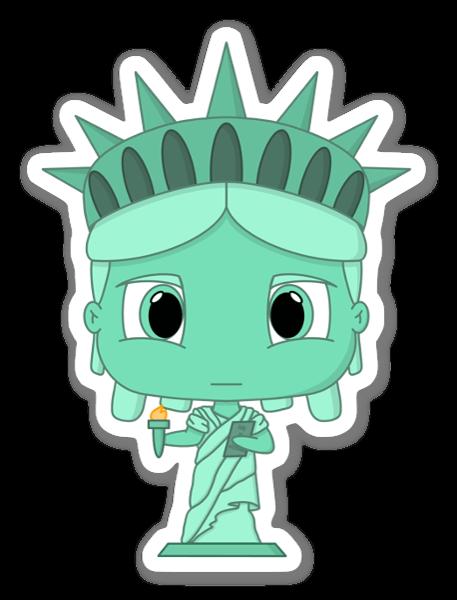 Chibi Lady Liberty tarra