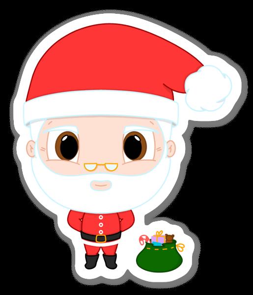 Jultomte sticker