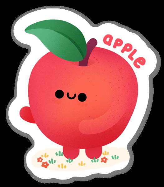 Jabłuszko naklejka