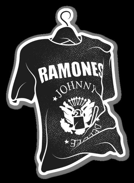 Ramones Tee sticker