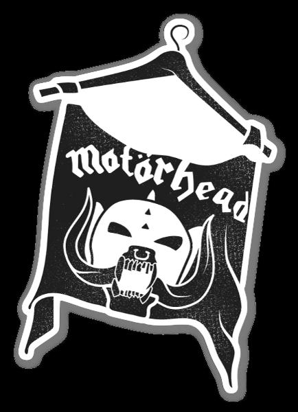 Motörhead Tee sticker