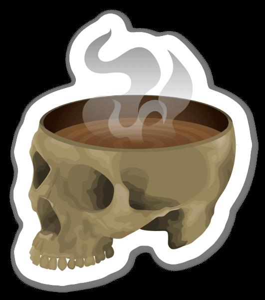 Kofeiiniton kallo tarra