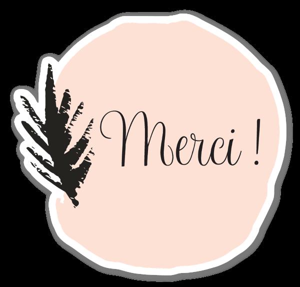 Merci French Boho Sticker