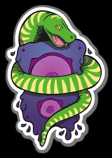 Snake Music sticker
