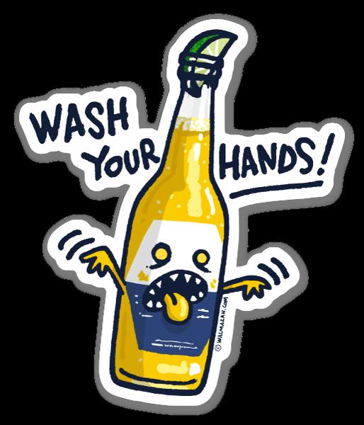 Wash your hands tarra