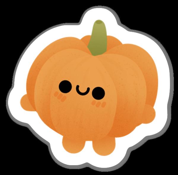 Cute Pumpkin sticker