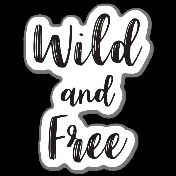 Wild & Fri sticker