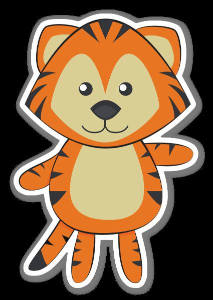 Tiikeri tarra