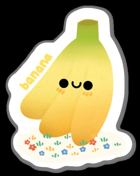 Cute Cartoon Banana sticker
