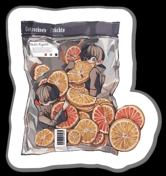 Torkad Frukt sticker