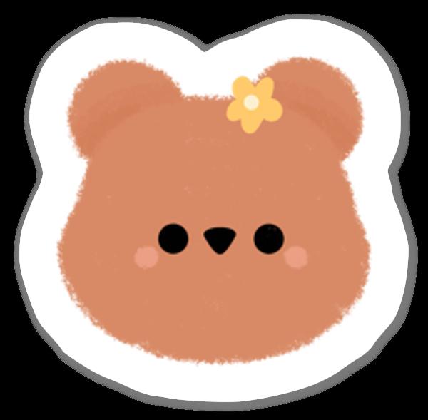 Lillabjörn sticker