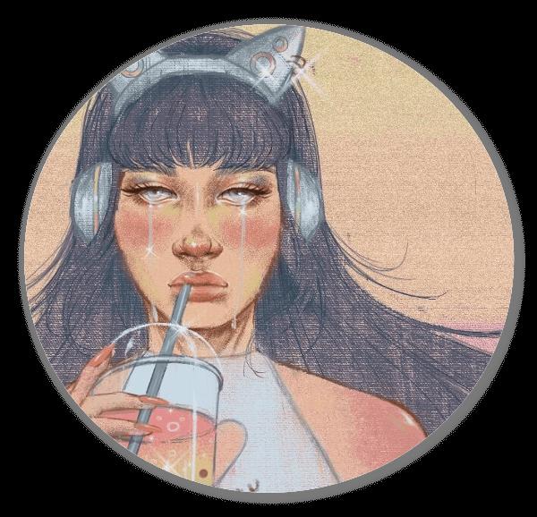 Pastel Tears sticker