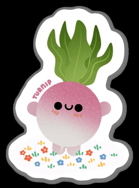 Turnip sticker