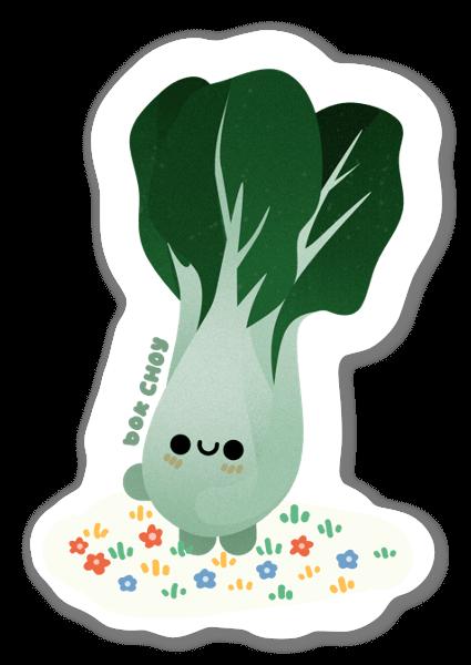 Cabbage sticker