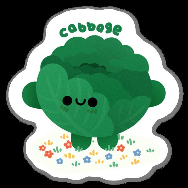 Grönkål sticker