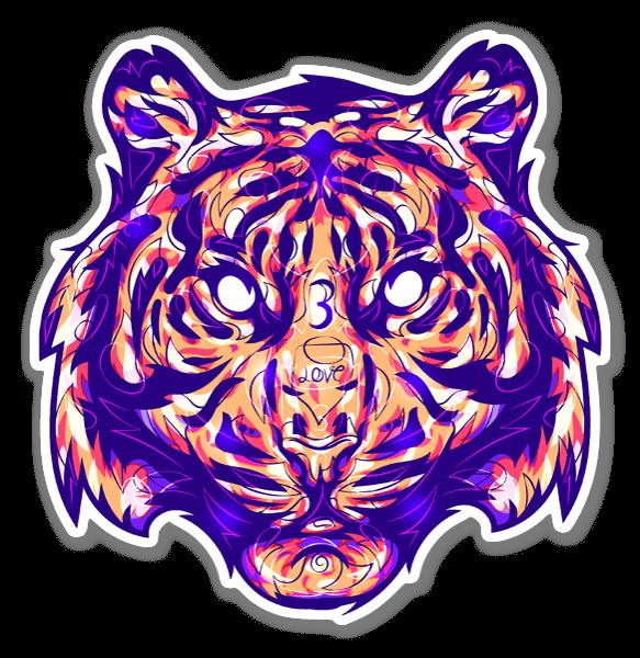 TIG3R sticker