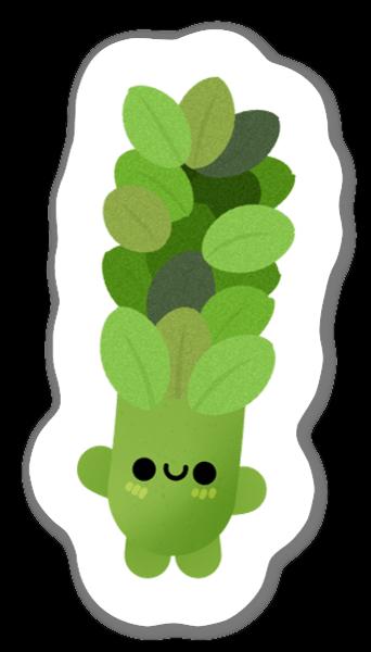 Asparagus sticker
