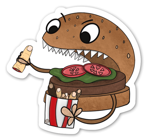 Cravings sticker