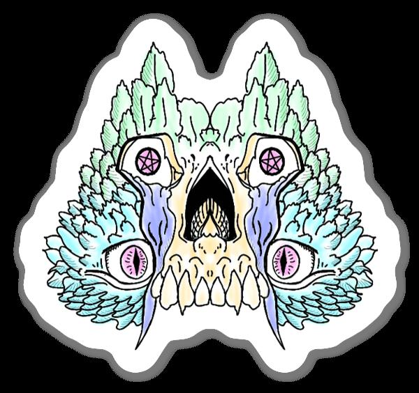 Freak of the Night sticker