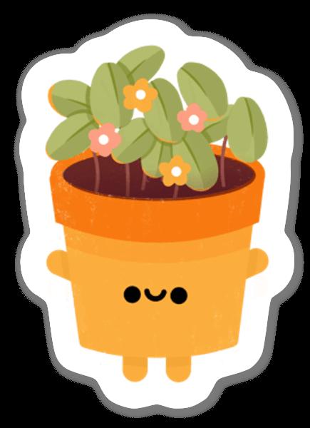 Liten Växt sticker