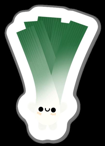 Cute Leek sticker