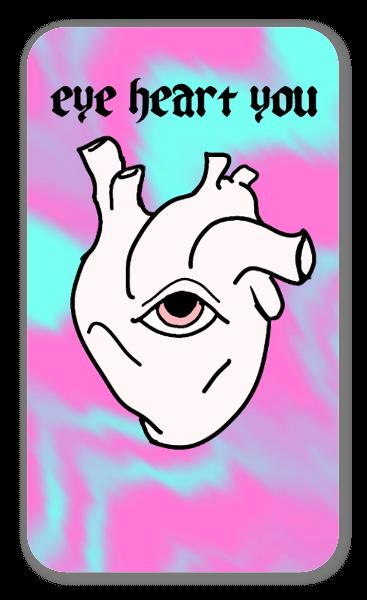 Love Eye See sticker
