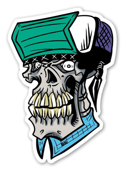 Flip skull tarra