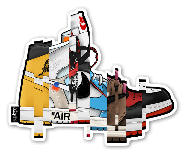 AJ collection v 1 sticker