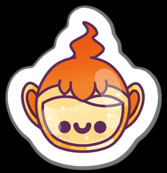Cute Monkey sticker