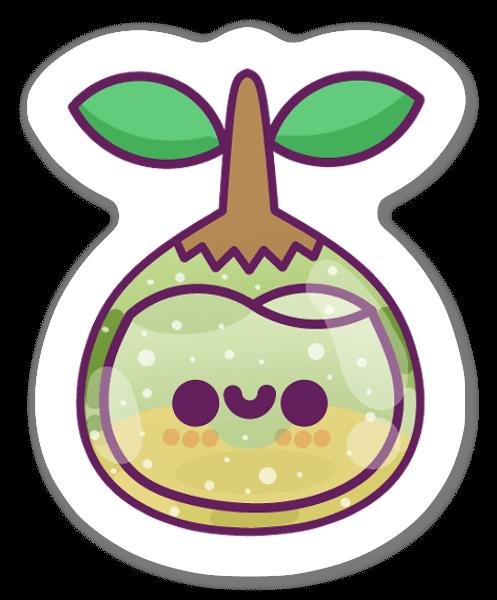 Cute Leaf sticker
