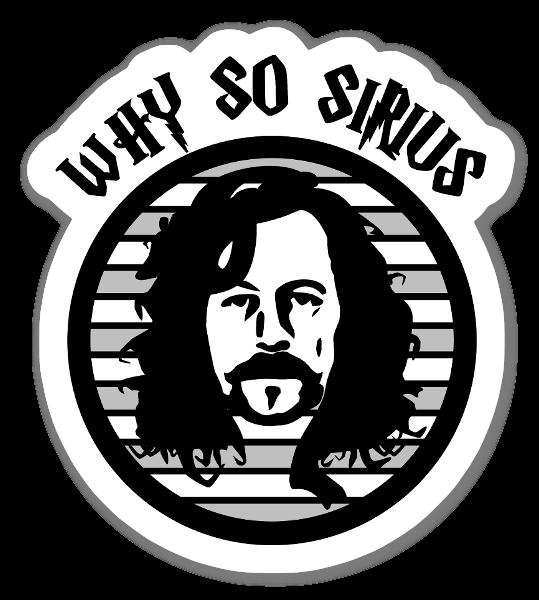 Sirius Black Sticker