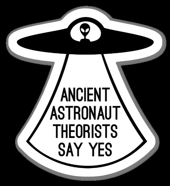 Ancient Astronaut Sticker