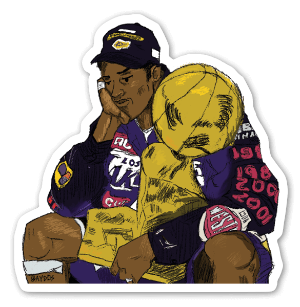 Kobe Champ Sticker