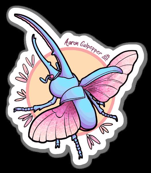 Beetle Vibes sticker