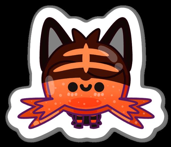 Cat Creature sticker