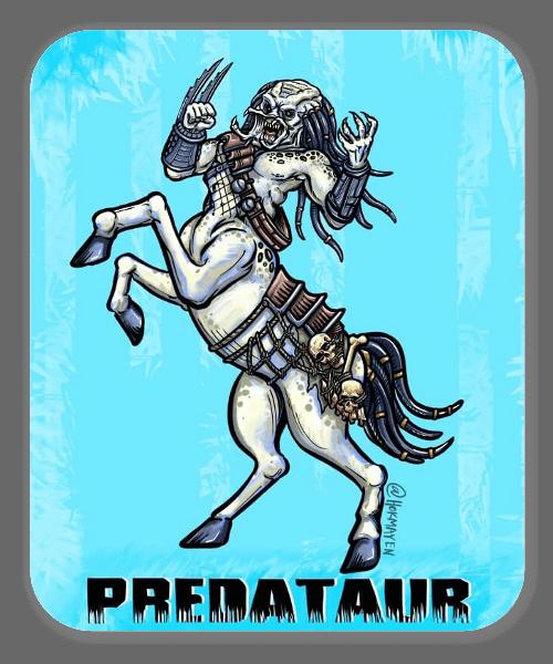 Predataur sticker