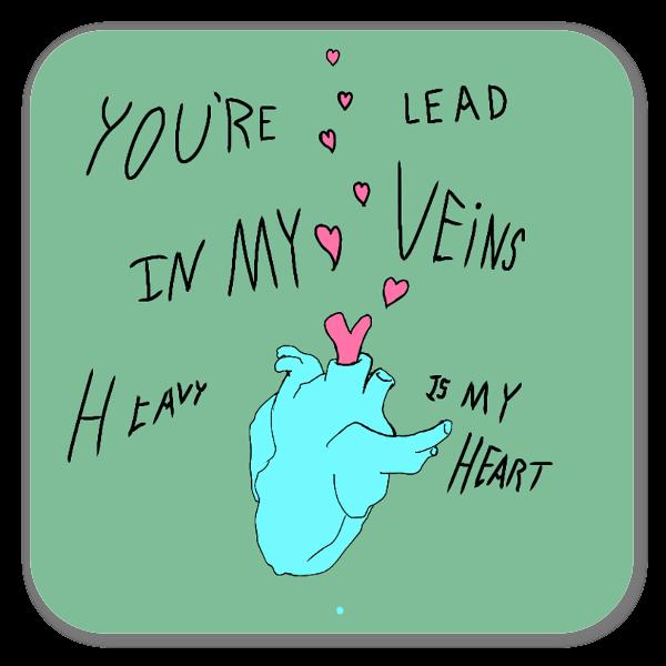 Lead me on sticker