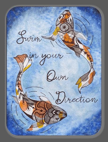 Own Direction sticker