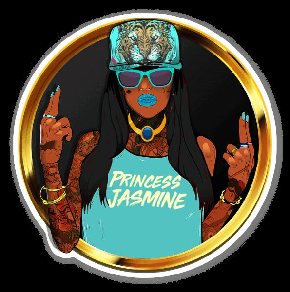 Principessa Jasmine Ghetto sticker