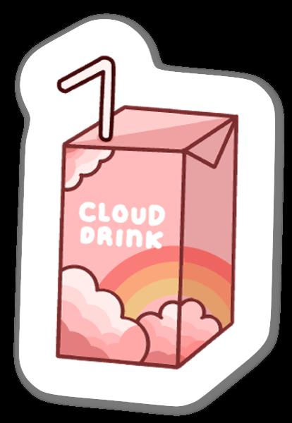 Cloud Flavour Juice sticker