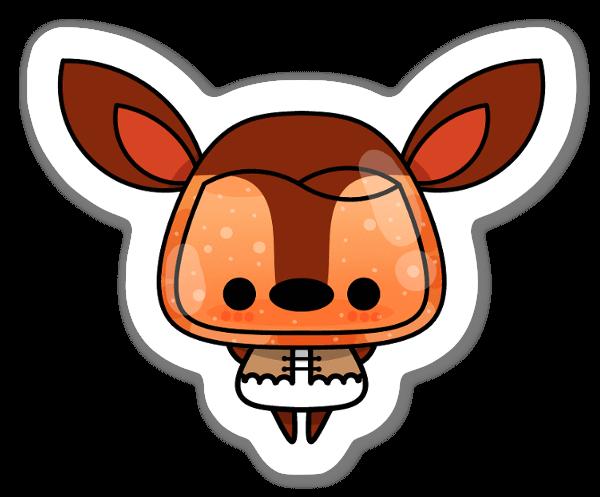 Veado sticker