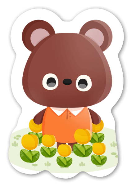 Urso sticker