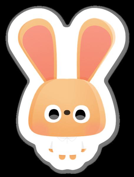 Coniglietto sticker