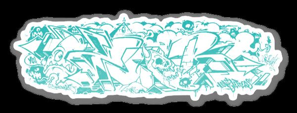 OZER GRAFF 2 sticker