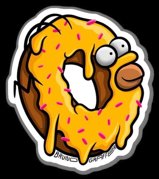 Homer Ciambella sticker