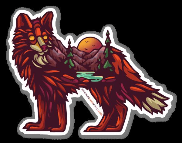 Fox Outdoors sticker