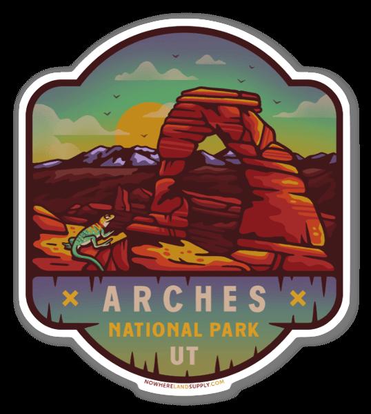 Arches naklejka